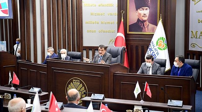 Büyükşehir belediye meclisi şubat ayı toplantılarına devam edildi.