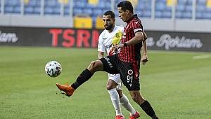 Yeni Malatyaspor deplasmanda 1 puana razı oldu