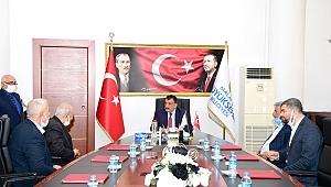 Başkan Gürkan'dan Arapgirli Muhtarlara hizmet müjdesi