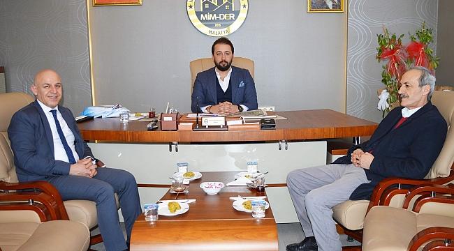 MİMDER Başkanı Bülbüloğlu'na hayırlı olsun ziyareti