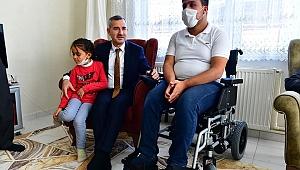 Yeşilyurt Belediyesi engellilerin gönlüne dokundu
