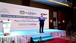 Başkan Gürkan iki yılın hesabını tek tek verdi