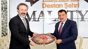Başkan Gürkan Malatya'ya yakışır ve yaraşır bir kütüphaneyi yapacağız