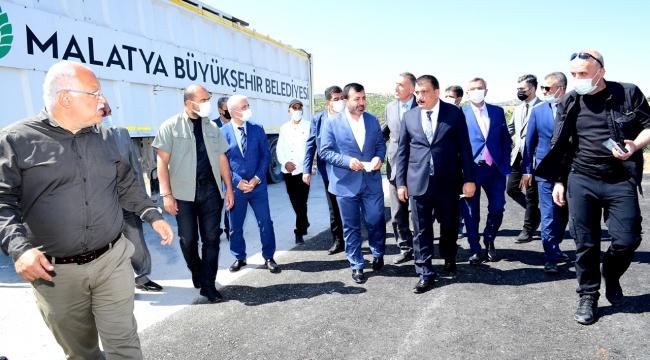 Başkan Gürkan'dan ilçelere çöp müjdesi