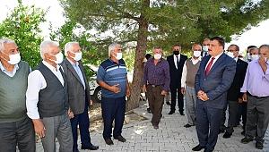 Başkan Gürkan örüçkü'ye ziyaret