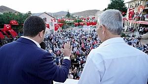 İmamoğlu Arapgir'i ziyaret etti