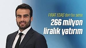Fırat EDAŞ'tan 266 Milyon Tl