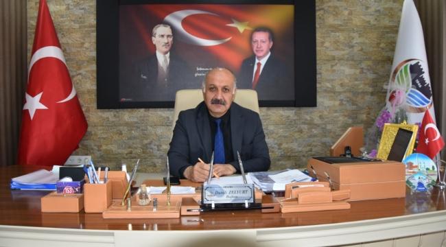 """Başkan Zelyurt; """"Ramazan Bayramımız Mübarek Olsun"""""""